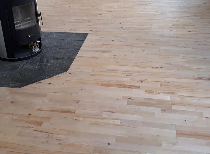 Holzfußboden Parkett ~ Holzfußboden u parkett diele holzstein service